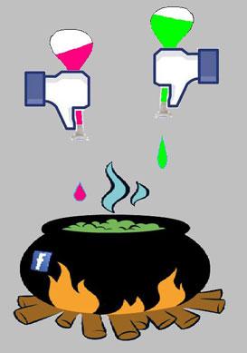 Facebook, recette incontrôlée